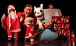 Joululaululeikki_Pia Leinonen ja nuket_Photo_Joni Tiala