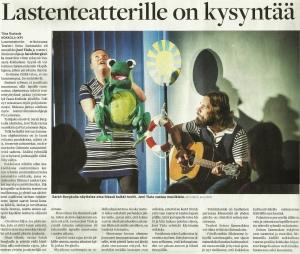 Tiina Ruotsala/ Keskipohjanmaa, 10.4.2014