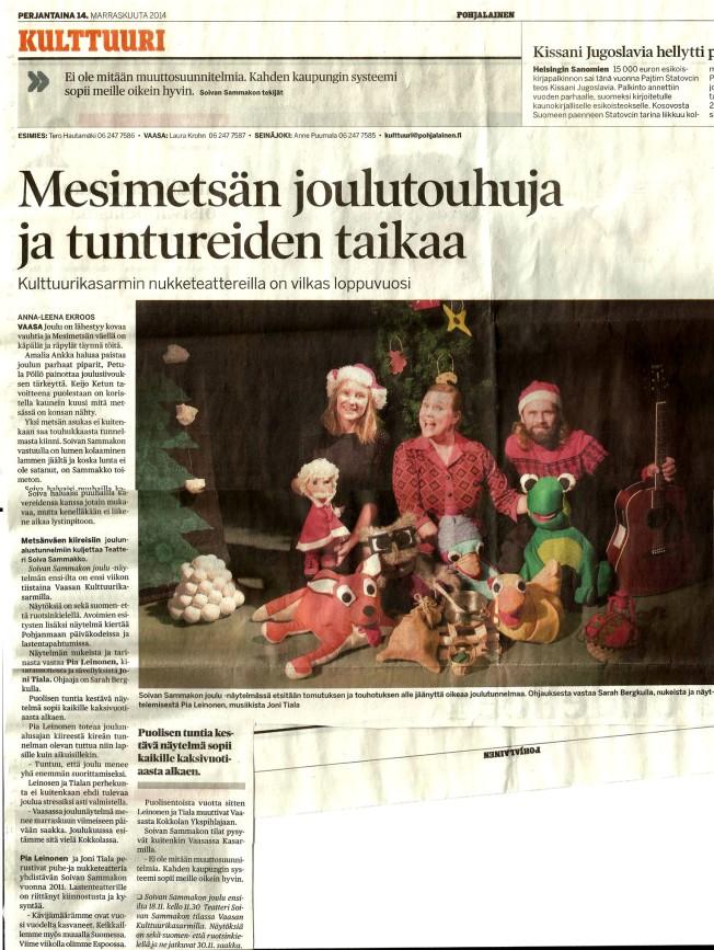 SSJ Pohjalainen_Anna-Leena_Ekroos_14112014