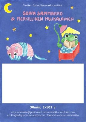 Soiva Sammakko ja merkillinen muukalainen JULISTE suomi