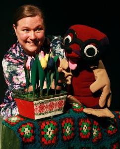 Mauri Myyrä ja kukat