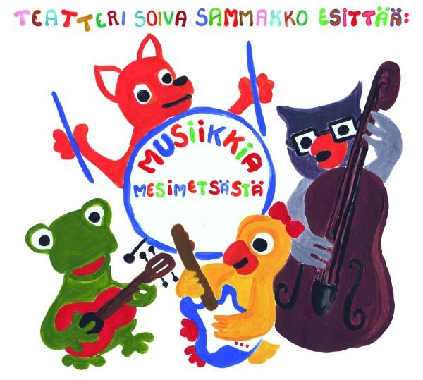 Musiikkia Mesimetsästä_etukansi